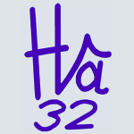 Logo Hâ 32 carré 300 px