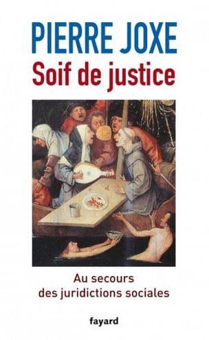 Couverture du livre Soif de justice de Pierre Joxe