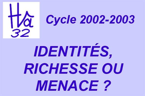 Image mise en avant Cycle 2002-2003