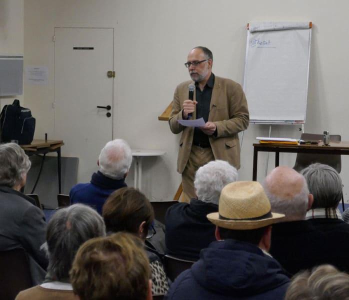 Conférence avec Frédéric Rognon
