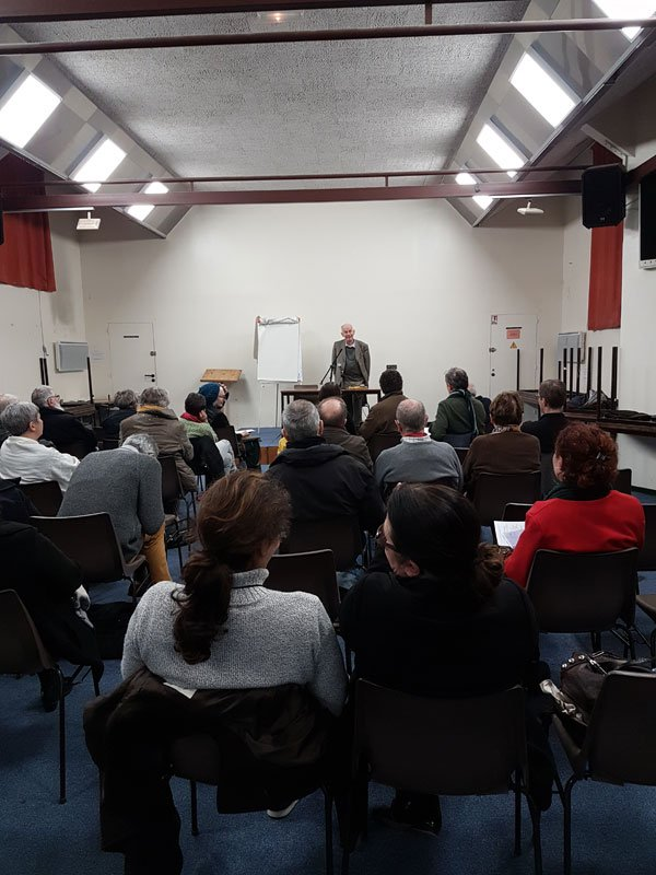 Conférence d'André Birmelé sur l'oecuménisme