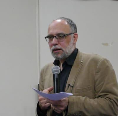 Frédéric Rognon lors de sa conférence du 25 janvier 2020 au Centre Hâ 32