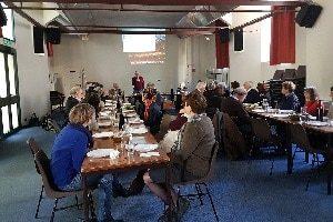 Photo d'une réunion Midi-14 au centre culturel Hâ 32